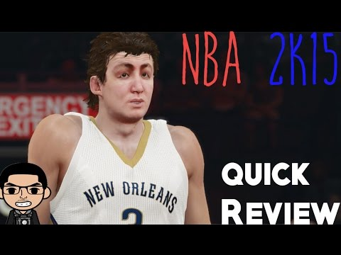 NBA 2k15 Quick Review