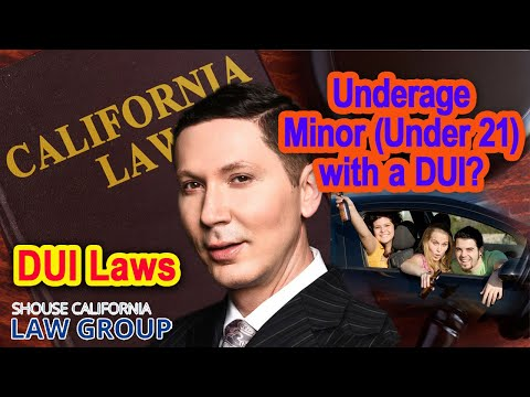 Underage Minor (Under 21) with a DUI? A former cop & DA give advice