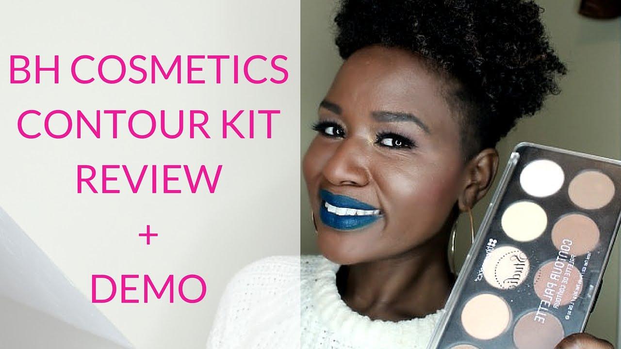 NEW* BH Cosmetics Studio Pro Contour Palette Review + Demo on Dark ...