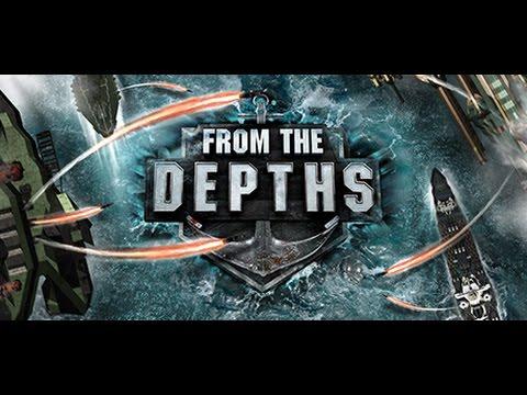 THE HANGAR / From the Depths MEGASHIP Timelapse / #1
