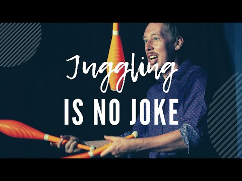 Juggling Is NO JOKE! - Stand Up Comedy Juggling By Michael Connell