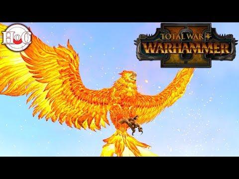 Flamespire Phoenix - Total War Warhammer 2 - Online Battle 17