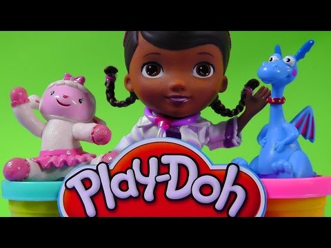 DOCTORA JUGUETES set de plastilina/PLAY DOH Doc McStuffins video