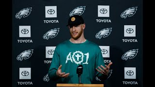 Eagles' Carson Wentz signs 4-year extension: Takeaways