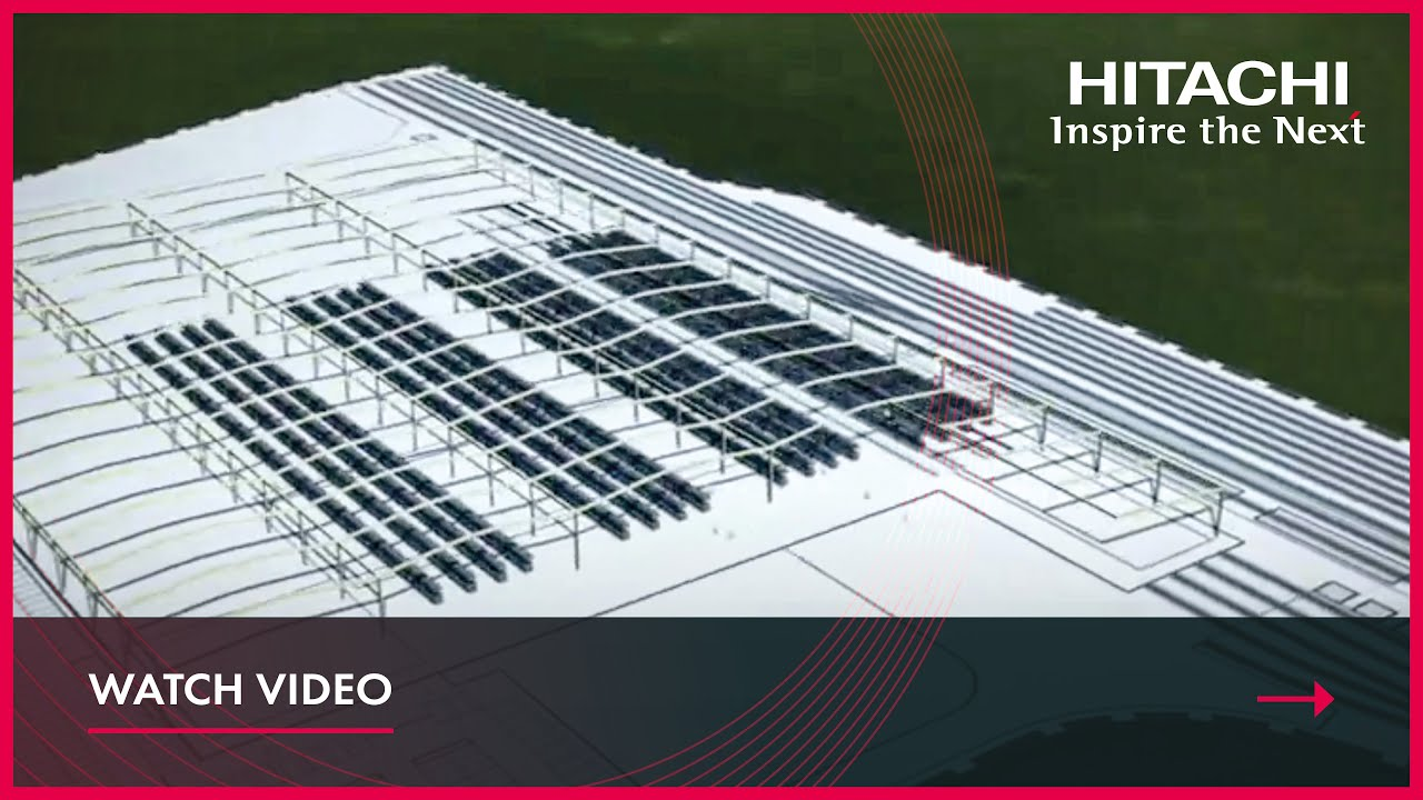 Newton Aycliffe CGI video from Hitachi Rail Europe