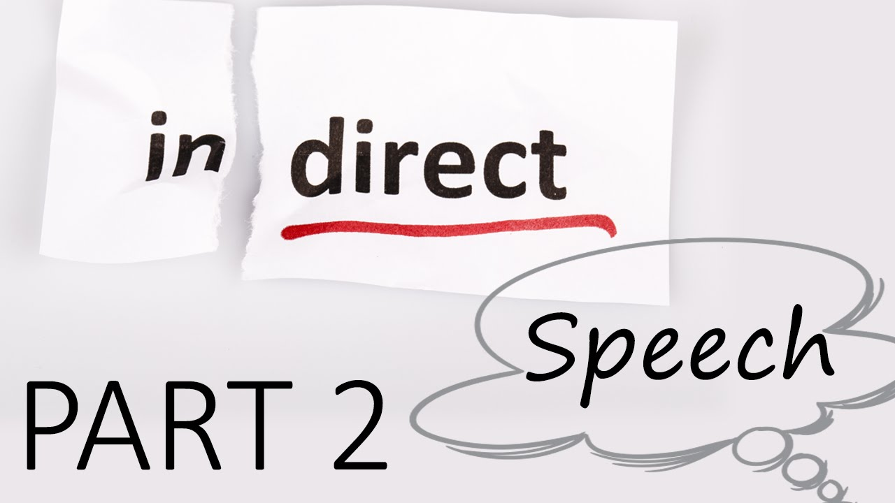 Indirect Speech (Questions) - English Lesson | Part 2