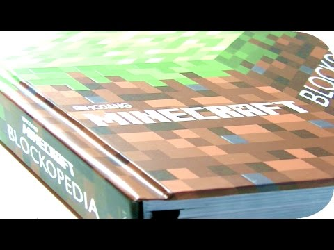 Minecraft Blockopedia Book Impressions