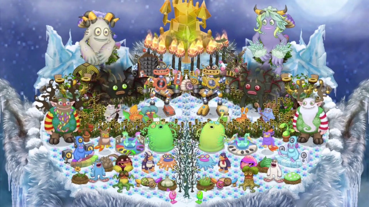 My Singing Monsters - Cold Island (Full Song) (2 3 1)