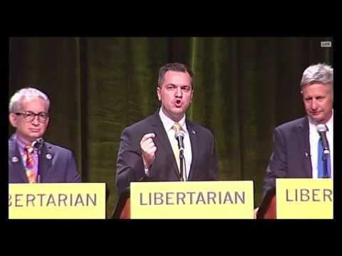 Libertarian Debate: Candidates Unload On Donald Trump
