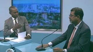 ahmed senhoury directeur du prcm invit du journal de la rtg radiodiffusion guinenne