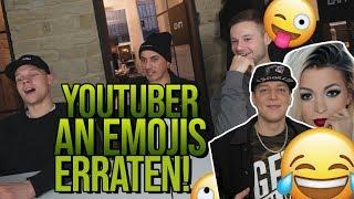 Youtuber an EMOJIS erraten! mit Sascha und Inscope21