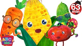 Vegetables Song | + More Nursery Rhymes & Kids Songs – ABCkidTV