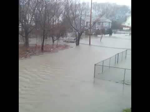 Nor'easter: Flooding in Quincy
