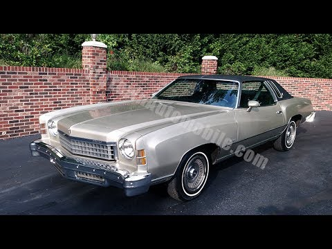 1974 chevrolet monte carlo for sale old town automobile in. Black Bedroom Furniture Sets. Home Design Ideas