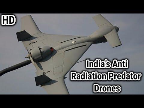 IAI Harop :- India's Anti Radiation Predator Drones