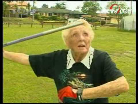 Ruth Frith - oldest sports women of world (98 years)