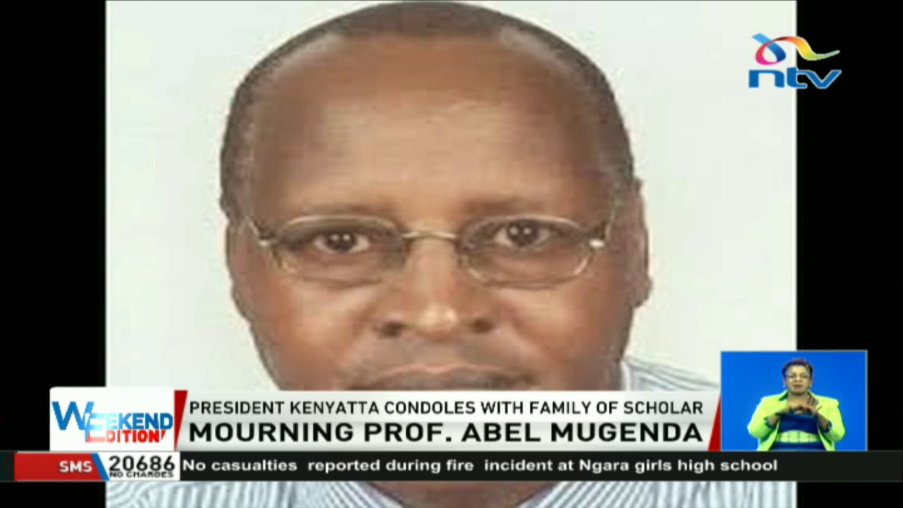 President Kenyatta condoles with family of scholar, Prof  Abel Mugenda