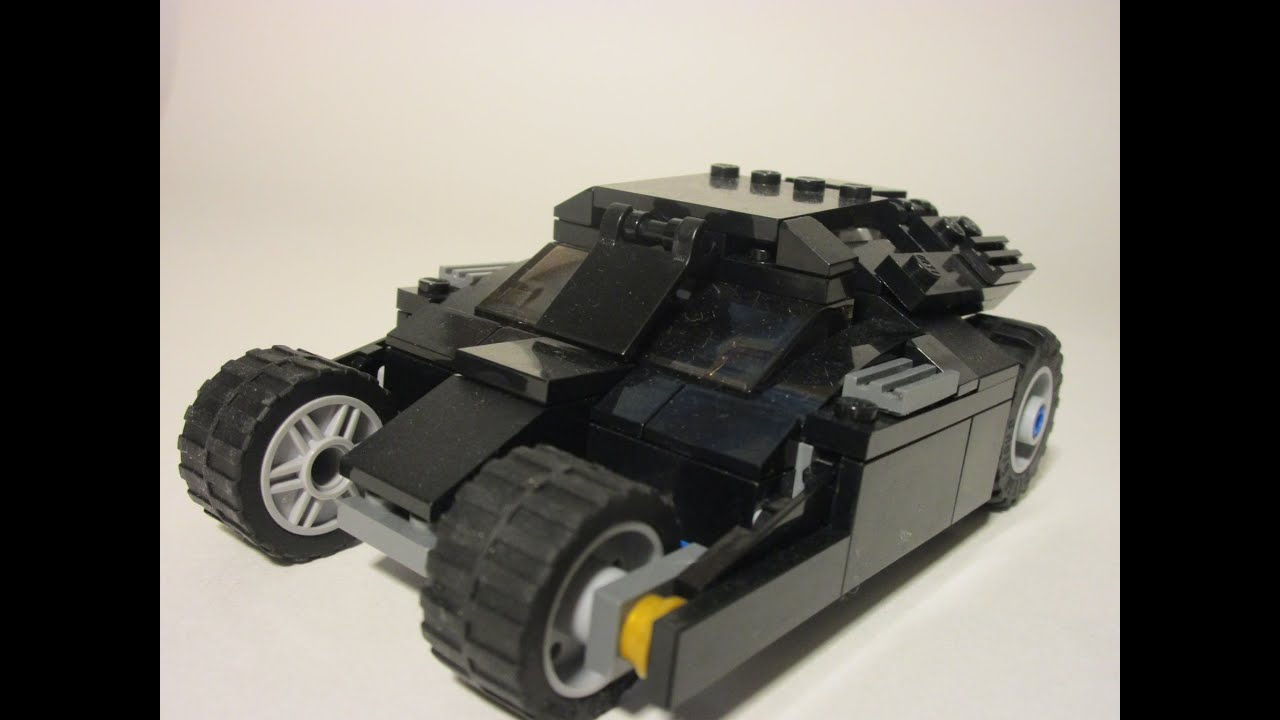 lego batman tumbler minifigure scale moc youtube. Black Bedroom Furniture Sets. Home Design Ideas