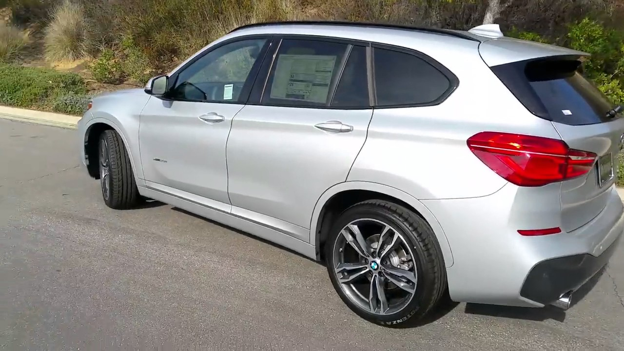2017 bmw x1 xdrive 28i m sport package 19 youtube. Black Bedroom Furniture Sets. Home Design Ideas