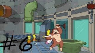 Les Simpson Le Jeu - épisode 6 : Entrez dans la Matrice | [Xbox 360] Let's play HD Français