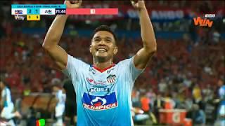Medellín vs Junior (3-1) Liga Aguila 2018-II | Final Vuelta