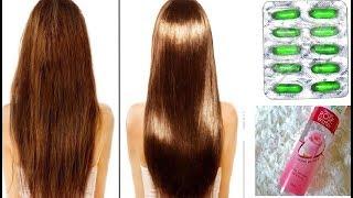 Homemade Hair Serum for Dry & Damage Hair, Get Soft, Smooth & Shiny Hair