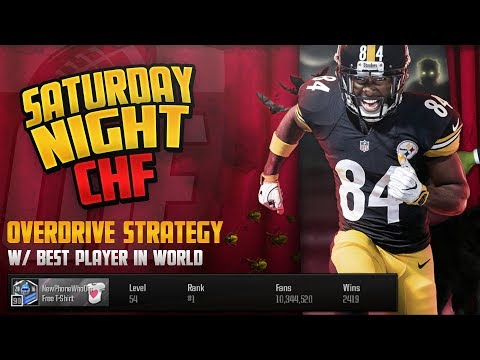 SATURDAY NIGHT CHF - Overdrive Strategy With Top Player In The World!