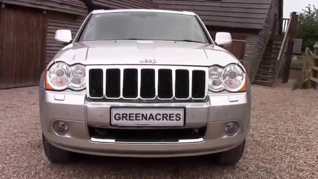 Used 2010 60 Reg JEEP GRAND CHEROKEE S LIMITED 3.0 CRD V6 4x4 FOR SALE In  Nottinghamshire