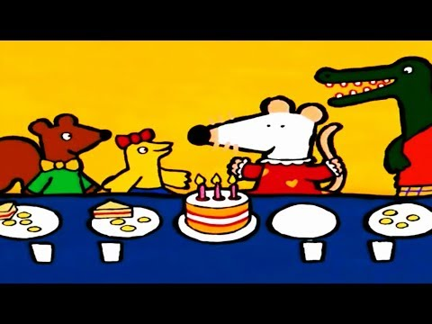 Maisy Mouse Official | Birthday | English Full Episode | Cartoon For Kids