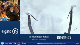#ESAWinter19 Speedruns - Call of Duty: Modern Warfare 2 [Any%] by The__VK