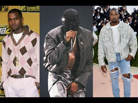 Kanye West Best Outfits , Style Transformation 2018