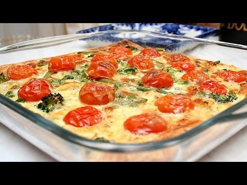 Как приготовить Цветной Пирог с Овощами.Очень Вкусный Рецепт