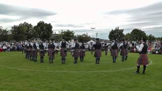 Ards 2014 - Cullybackey Pipe Band - MSR