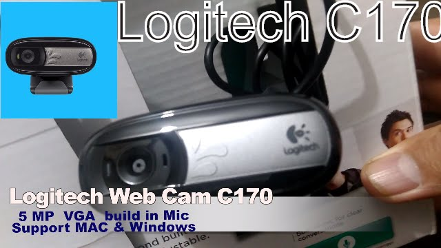 LOGITECH C170 MAC DRIVER DOWNLOAD