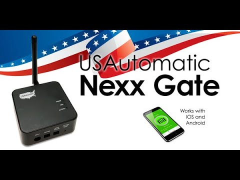 USAutomatic Nexx Gate Controller | Overview