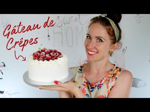 recette-facile-de-gâteau-de-crêpes-aux-framboises