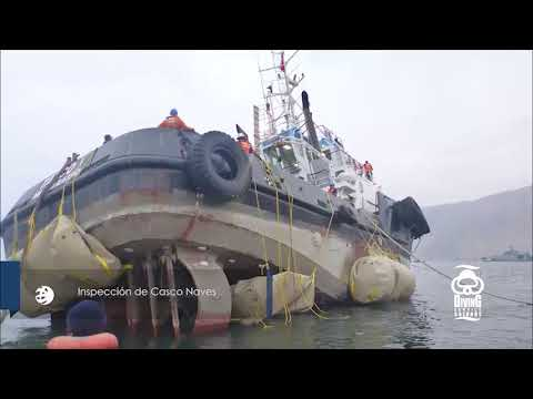 DS Salvage. Diving Service Salvage