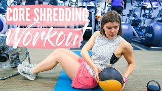 CORE SHREDDING WORKOUT | Toned Abs! + Update!