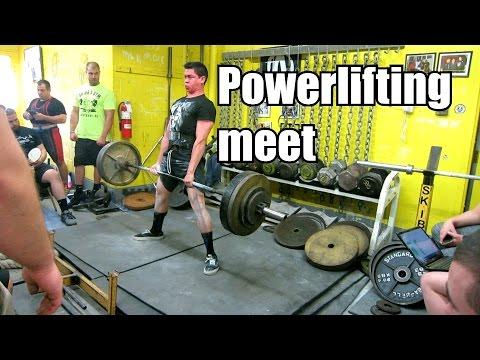 first powerlifting meet