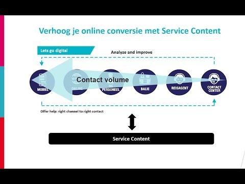 Verhoog je online conversie met je service content