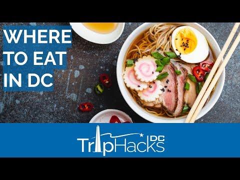 Eat At The BEST Restaurants In Washington DC