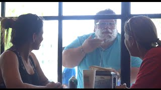 Shaving in a Window Prank!!