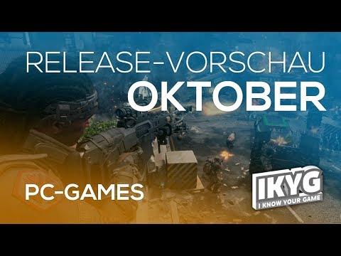 Games-Release-Vorschau - Oktober 2018 - PC