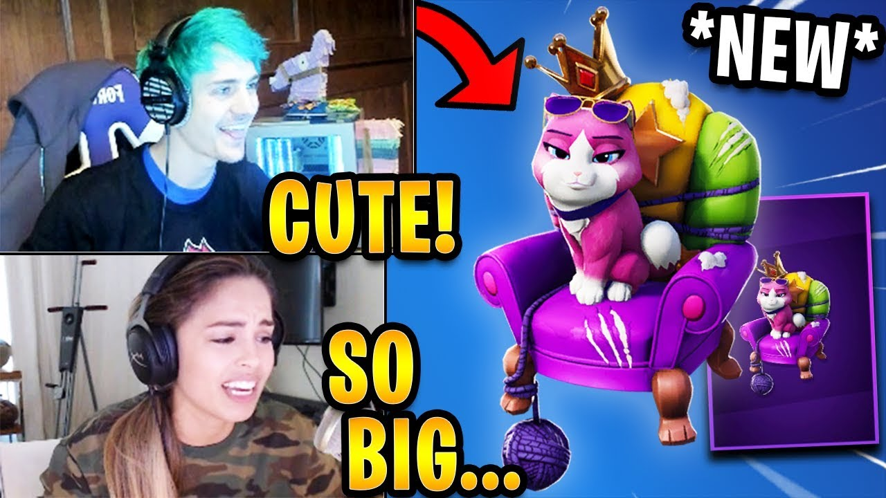 Streamers React to *NEW* 'Empress' Pet! *EPIC* | Fortnite Highlights & Funny Moments
