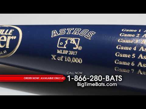 Astros World Series Champs Louisville Slugger Two-Tone Bat