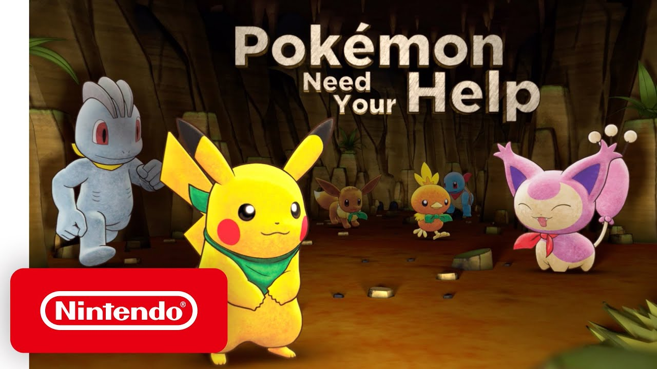 Assistir - Pokémon Mystery Dungeon: Rescue Team DX | Pokémon Need Your Help | Available Now - online