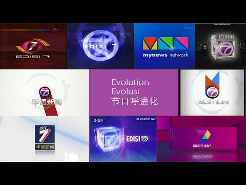 Ntv7 - News Opening Evolution (4.1999-today)
