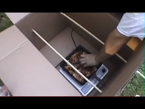 Cardboard Box Smoker Make a homemade smoker GF TV