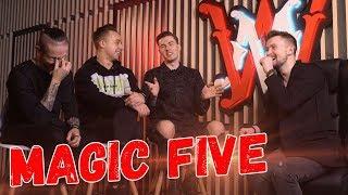 MAGIC FIVE о шоу Всё, кроме обычного, WONDER MAKERS и тренды YouTube | ИНТЕРВЬЮ