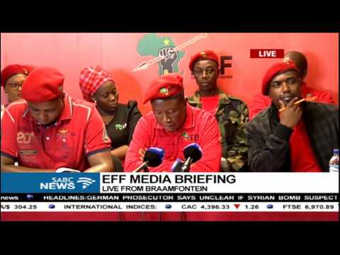 Julius Malema has called for a national shut down in November